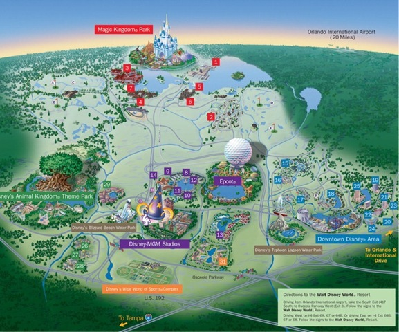 Although I Havent Been Able To Find Exactly How Many Miles Of Pathways Are In Each Park The Magic Kingdom Covers 107 Acres Epcot Covers 300